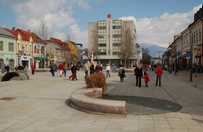 A view from the central area of the city Martin, Slovakia, which is proposing a Sister City agreement with Sugar Creek and Independence.