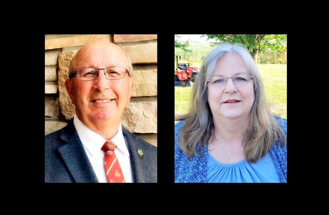 Iowa House 88 candidates David Kerr and Sandy Dockendorf.