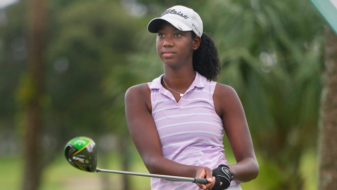 Bolles junior Tori Mouton finished second by one shot in the Class 1A state girls golf tournament.