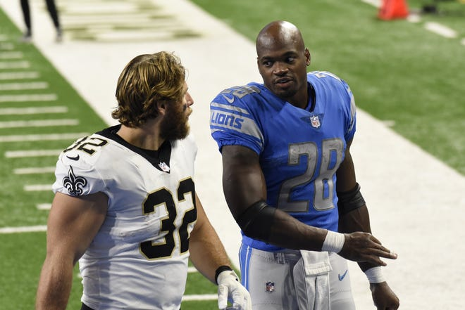 Jaguars continues to have defensive problems and now they face the Lions RB Adrian Peterson on Sunday Jose Juarez/Associated Press