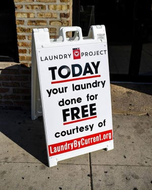 The Tampa-based Laundry Project returns to Jacksonville Saturday at two laundromats. The nonprofit provides free laundry services for families in low-income neighborhoods.