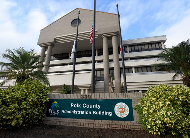 Polk County Administration Building in Bartow.