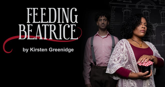 "The poster image for ""Feeding Beatrice,"" the first play in Geva's ""Recognition Radio"" series."