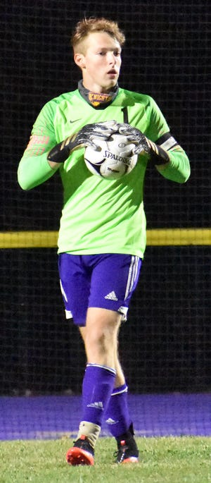 Jonathan Tolpa has been a standout goalkeeper for Holland Patent.