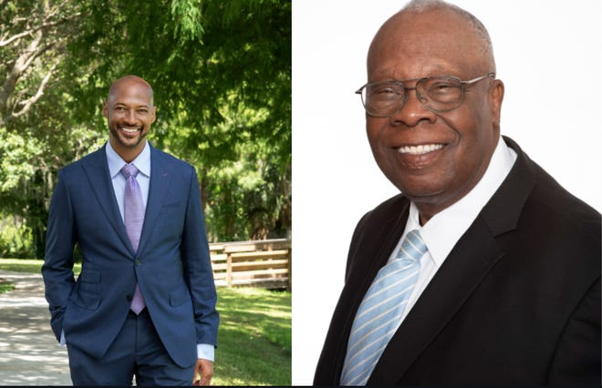 City of Sarasota District 1 candidates Kyle Battie and Willie Shaw. [COURTESY PHOTOS]