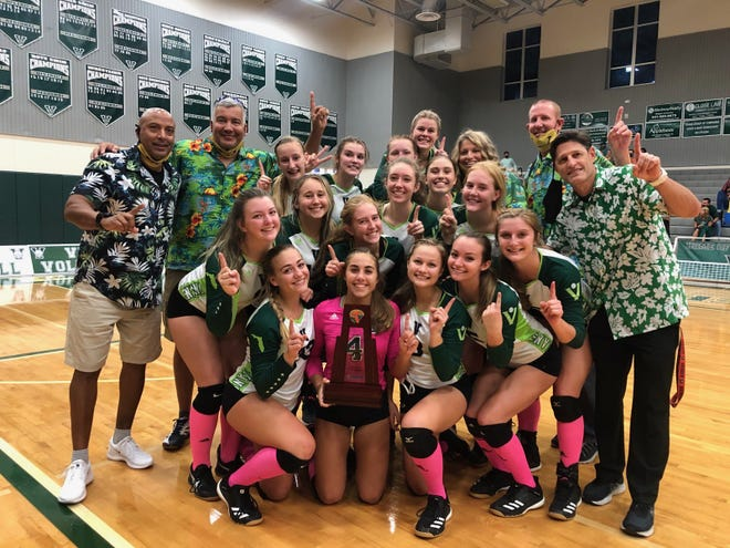 The Venice High volleyball team won its 19th straight district title and 25th in the past 27 seasons.