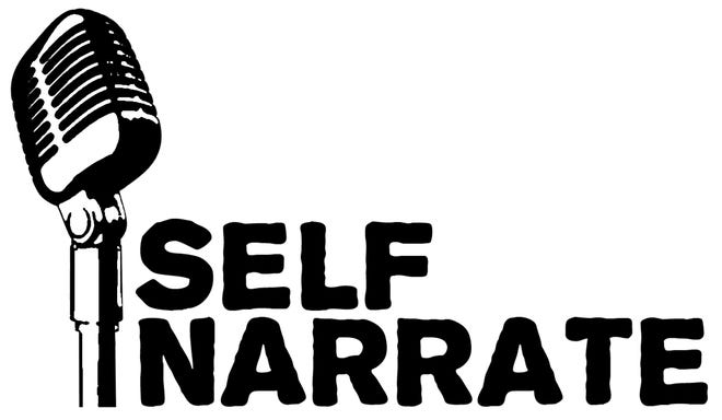 The logo of the storytelling group Self Narrate
