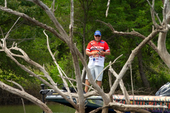 Bassmaster Elite Series pro Matt Herren of Ashville is looking forward to next weekend's Basspro.com Bassmaster Central Open on Neely Henry Lake.