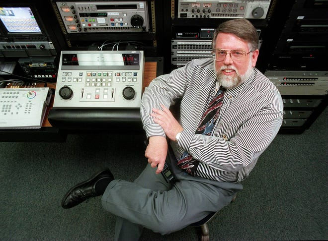 Jennings Bryant sits in the control room at the Institute for Communication Research in Reese-Phifer Hall on the University of Alabama campus in this 1999 photo. (File photo)