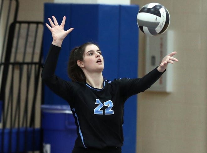 Reece Ludwig and the Darby girls volleyball team will open the Division I district tournament Thursday, Oct. 22, against Big Walnut or Reynoldsburg.