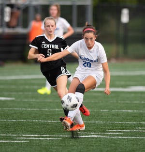 Mara McGlone was leading the Kilbourne girls soccer team with nine goals through 15 games. The Wolves open the Division I district tournament Saturday, Oct. 24, against visiting Westerville Central.