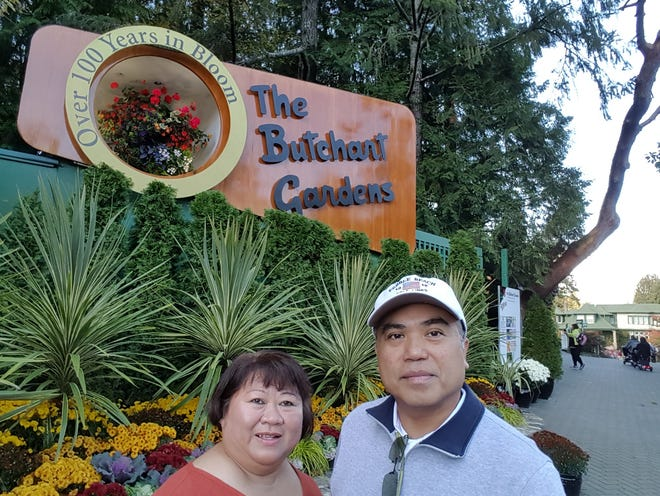 Ben and Sally Fontanilla often took trips together in the spring and autumn. The two were set to celebrate their 20-year wedding anniversary in December.