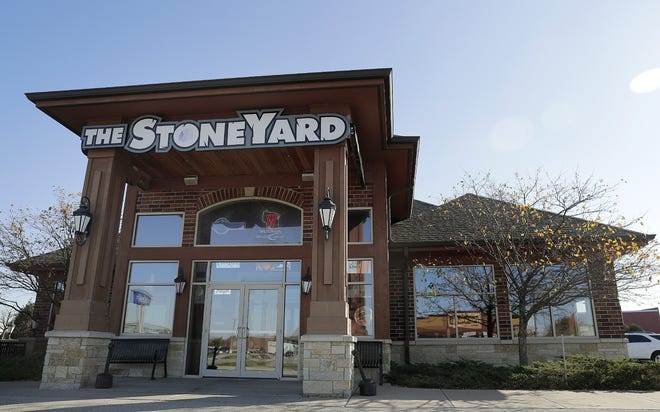 The StoneYard Food & Spirits at N140 Eisenhower Drive in Darboy will close Sunday at the end of the business day.