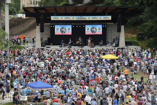 Mile of Music draws large crowds to downtown Appleton's parks, bars, concert venues and restaurants for four days every August. This year, the festival was canceled because of concerns over the spread of the coronavirus.