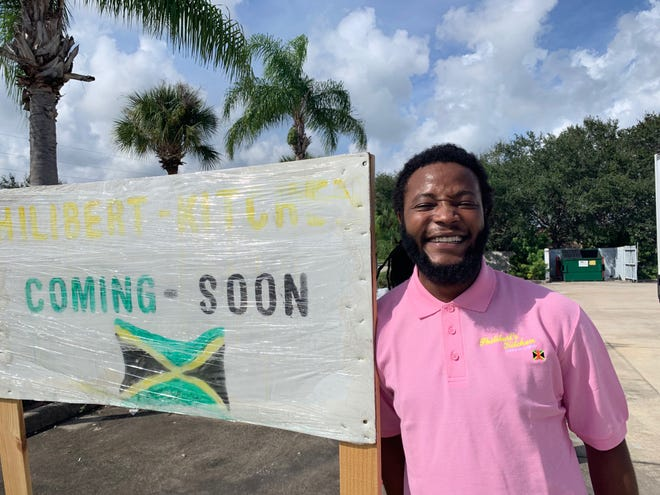 Kamal Philibert is in the process of opening Philibert's Kitchen, a takeout Jamaican restaurant, in a Shell station on Wickham Road in Melbourne.