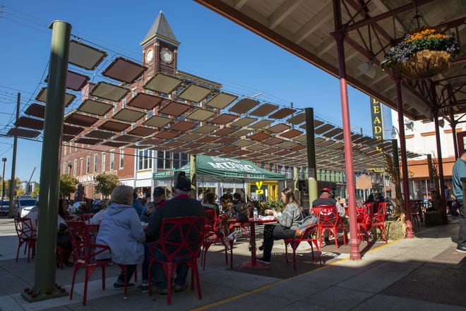 The Findlay Parkside development will surround Findlay Market, which hosted its annual Fall Food Festival in October.