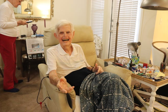 90-year-old Danny Dell's warmth and enthusiasm hid his struggle with pain and health issues.