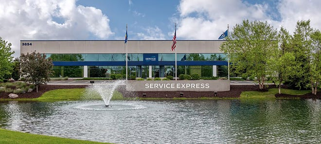 The corporate headquarters for Service Express in Grand Rapids, Michigan.
