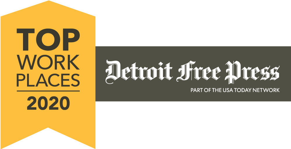 Top Workplaces Detroit 2020 Logo
