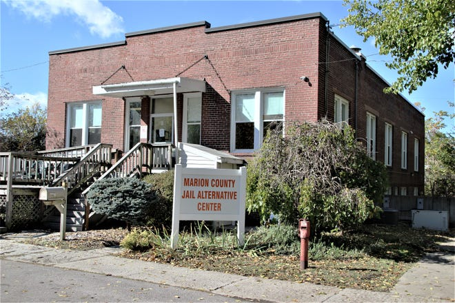 The Marion County Jail Alternative Center, located at 269 Rose Ave. in Marion, opened in August of this year to house inmates who have committed low level misdemeanor crimes and provide a measure of relief for overcrowding at the Multi-County Correctional Center. The center has a capacity for 30 inmates. It closed temporarily following heavy rains on Sept. 7, 2020, that flooded the basement. It's expected to open again in about two weeks.