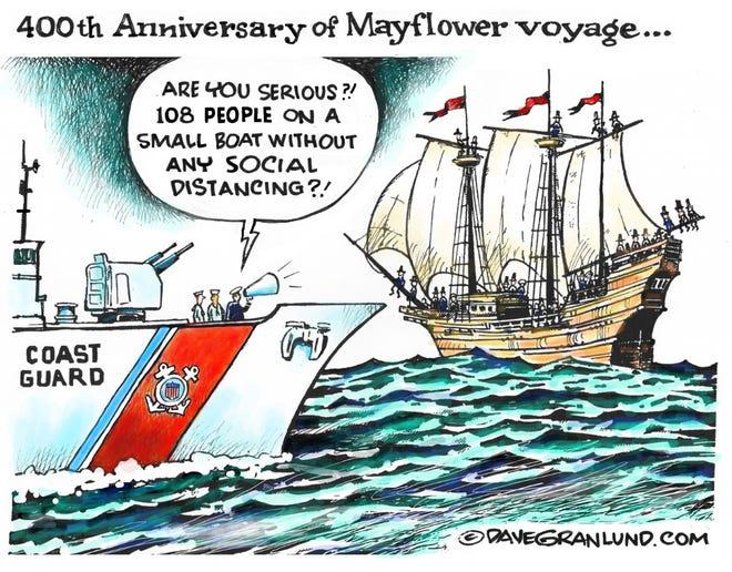 Mayflower anniversary.
