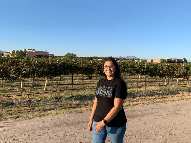 Las Cruces Public Schools counselor Merrilee Saige is participating in the Walker Tracker Challenge. Merrilee has logged 25,000 steps since the challenge started Oct. 11.