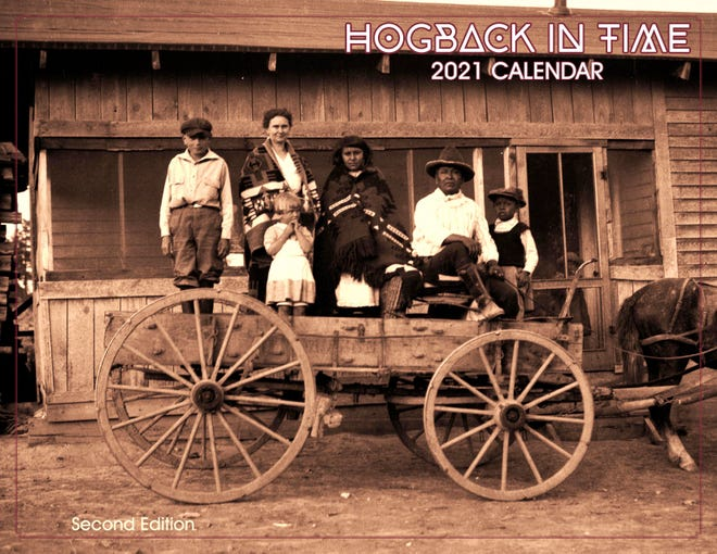 "The 2021 edition of the ""Hogback in Time"" calendar created by a pair of Colorado residents will be available for purchase soon at locations throughout the area."