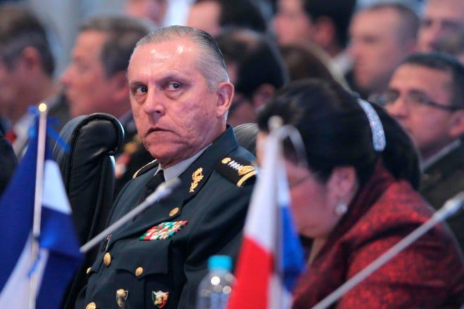 El exministro de Defensa de México, general Salvador Cienfuegos Zepeda.