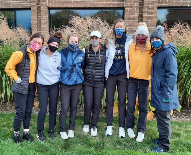 The Port Huron Northern girls golf team placed seventh at the Division 2 state championship on Friday, Oct. 16, 2020, at Forest Akers West in East Lansing.