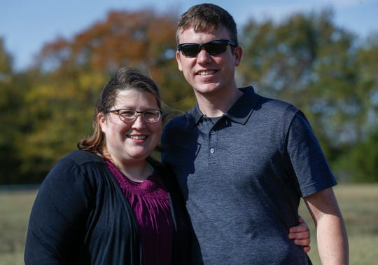 Lauren Hicks, pictured here with her husband Lance, was 29 years old when she was diagnosed with stage 4 metastatic breast cancer.