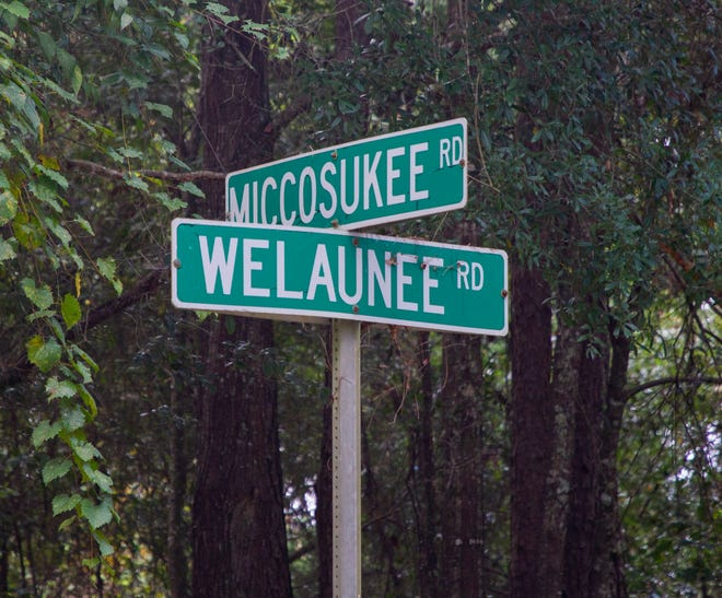 A portion of the land that will be a part of the 4,800-acre Welaunee Arch. It is wedged between Interstate 10 and Centerville and Miccosukee roads, that allow triple the planned building density for the property.