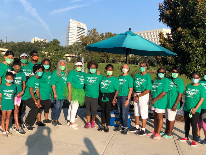 The Links held a socially distanced Walk-a-Thon on Saturday, Sept. 26 at the Cascades Park.