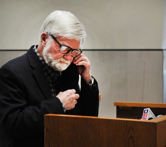 Wichita County Judge Woody Gossom declared the county a disaster area Tuesday because of severe winter weather.