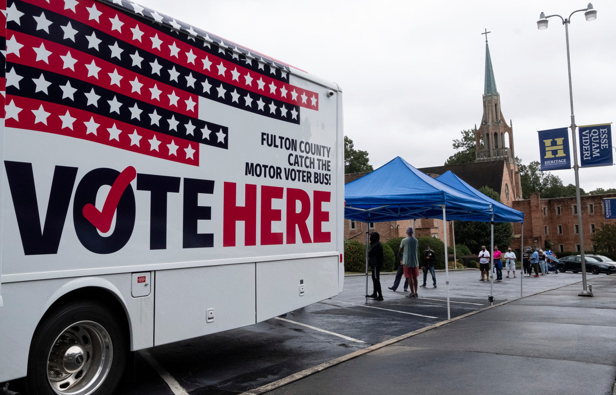 Voting 2020 live updates: New Hampshire won t ban armed voters; Boston drop box set on fire; thousands of lawyers offer free legal help
