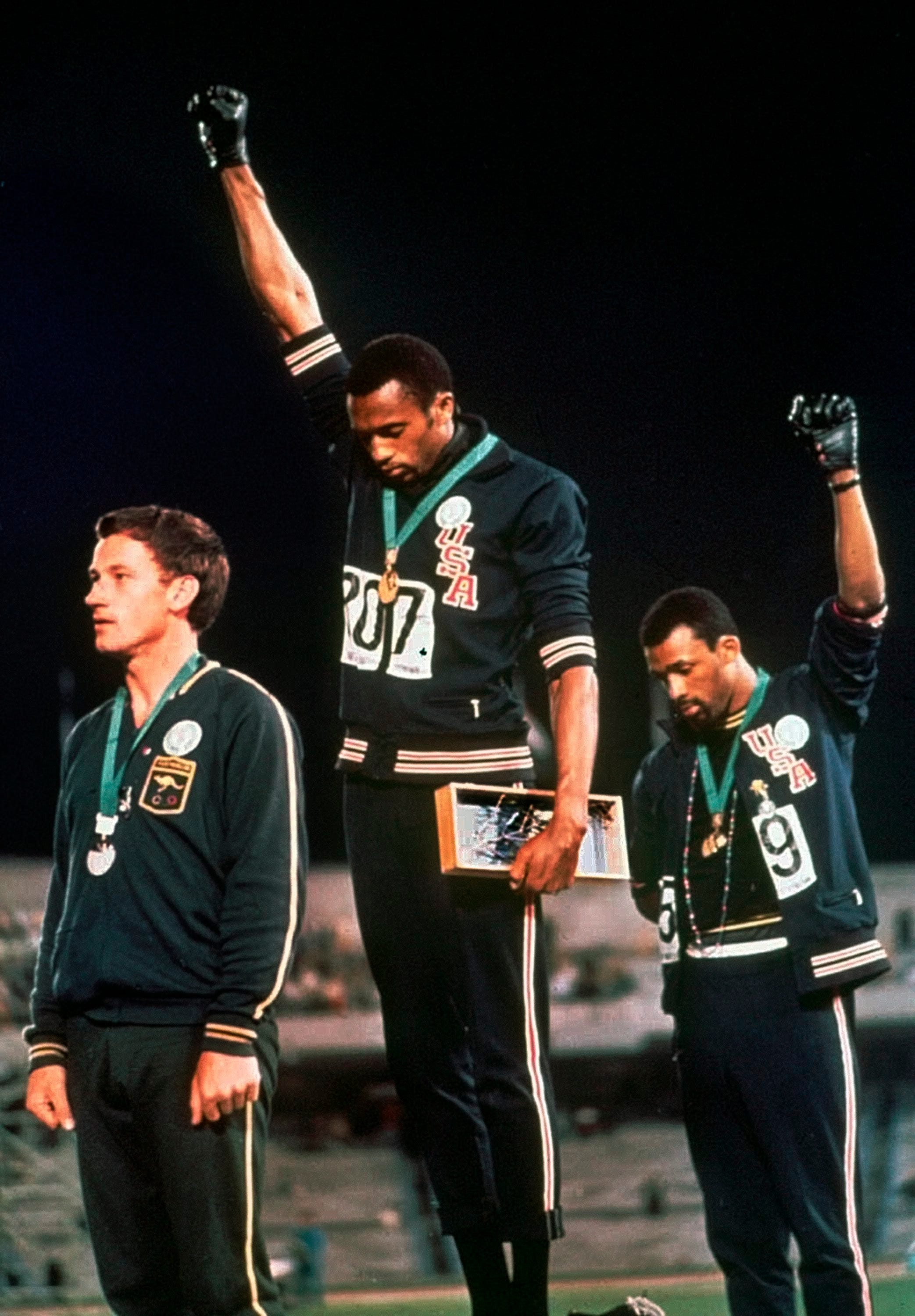 Today in sports history: Black Power salute at 1968 Summer Olympics