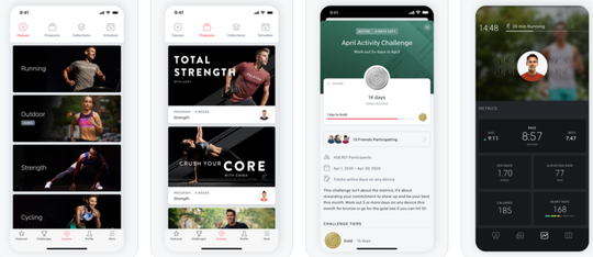 You don't need Peloton equipment to take advantage of this app, featuring a collection of exercise videos, led by celebrated instructors, and covering several different kinds of exercises.