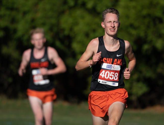 Ashland's Josh Hawley is the 2020 Times-Gazette Boys Runner of the Year.