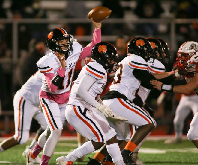 Despite limited attempts, Beaver Falls quarterback Jaren Brickner is on the cusp of surpassing 1,000-yards passing this season.