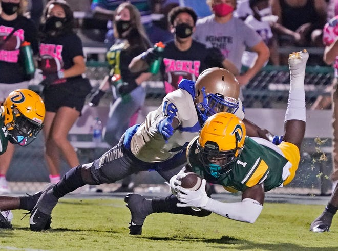 DeLand's Myzel Williams (1) claimed 30 Division I football offers, and he'll announce his commitment with the USA TODAY Network on Friday afternoon.