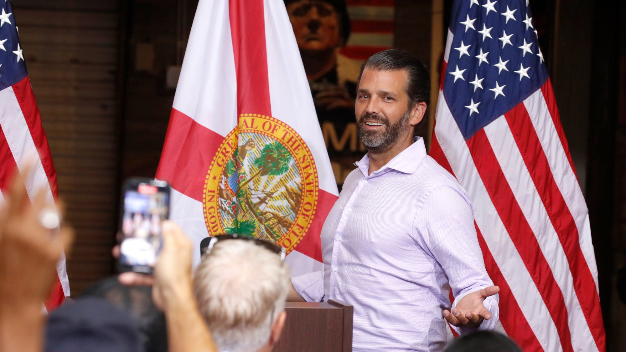 Donald Trump Jr to speak at Indian River County Fairgrounds