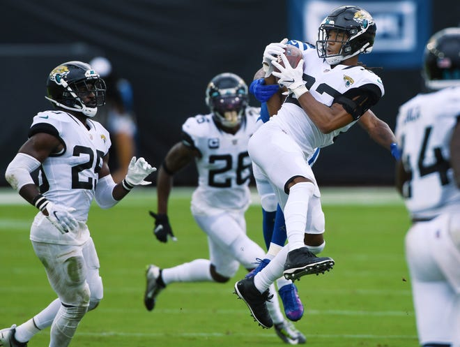 Jaguars secondary is going to be tested by Lions QB Matthew Stafford in Sunday's game at TIAA Bank Field. Bob Self/Florida Times-Union