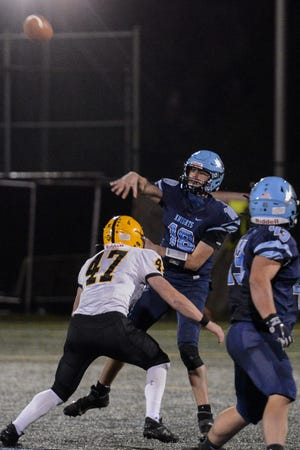 North Penn sophomore quarterback Ryan Zeltt is already in his second season as a starter for the Knights.