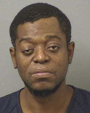Max Olrich Sume of Boynton Beach was arrested Saturday in the Lake Worth Beach shooting death of a man that same day.