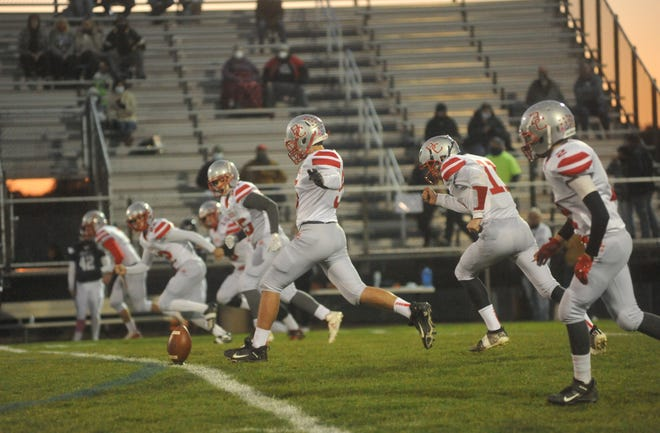 Buckeye Central gets to end the season at home against winless Willard looking to rebound from back-to-back losses.