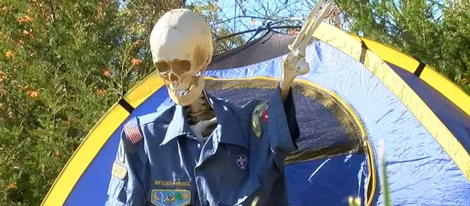 The Dan Beard Council is hosting it's first ever 'Boo-Thru.' It's a safe, socially-distant way to enjoy Halloween, while raising money for scouting programs in Greater Cincinnati.