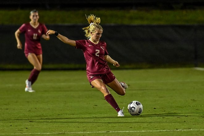 FSU and Nighswonger dominated Pitt 4-1 to keep the pressure on No. 1 UNC in ACC title race. (Photo: FSU Athletics)