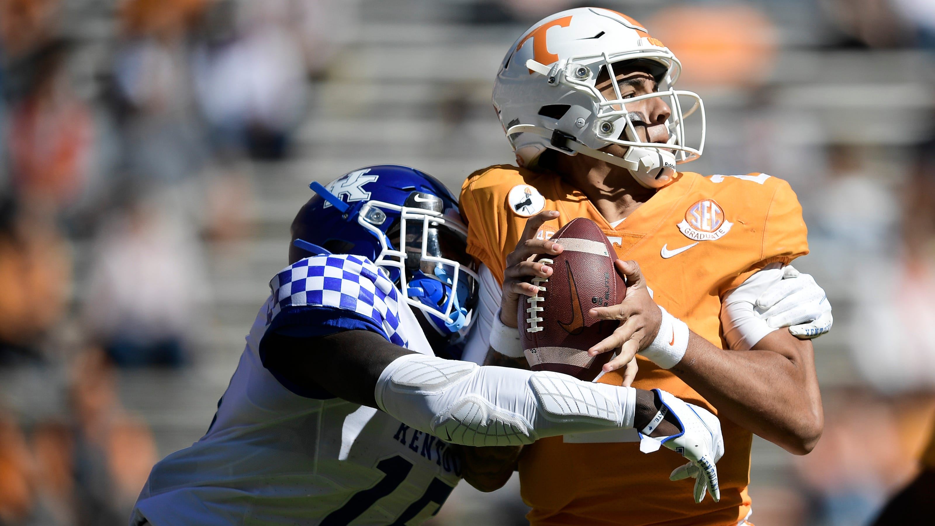 Vols: Jeremy Pruitt must recruit, develop better QB than ...
