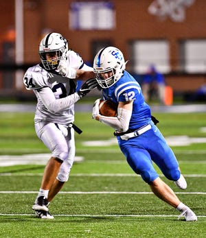Spring Grove junior quarterback Andrew Osmun is already attracting attention from NCAA Division I coaches as a safety.