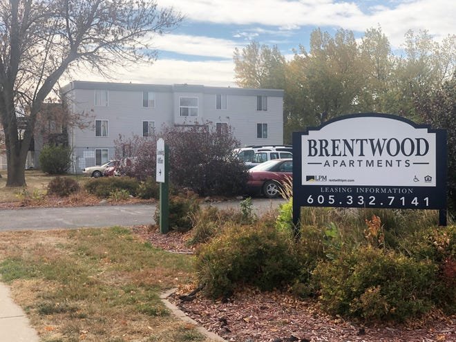 Brentwood Apartments where police officers responded to a call and were shot at by suspect.