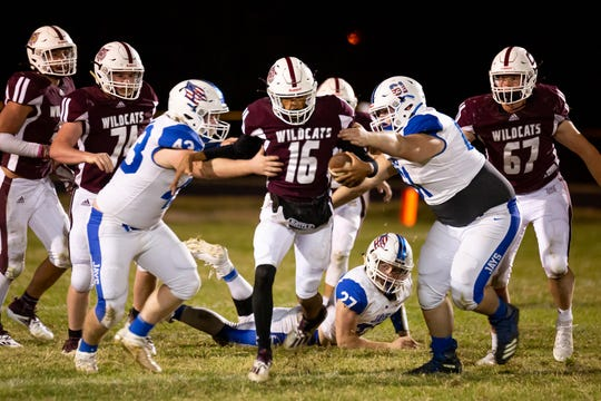 The Logan-Rogersville Wildcats took on the Marshfield Blue Jays at Logan-Rogersville High School on Friday, October 16, 2020